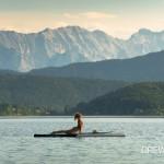 SUP Yoga am Walchensee