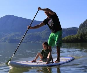 SUP am Walchensee mit Sunawind
